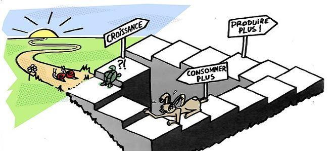 Croissance: Növekedés Produire plus: Termeljünk többet! Consommer plus: Fogyasszunk többet